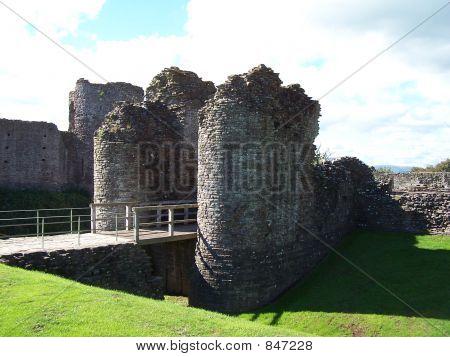 Gateway and drawbridge