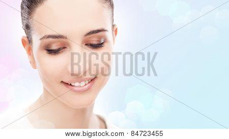 Smiling Woman Posing