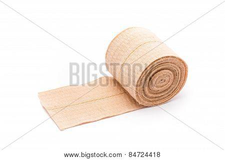 Brown Medical Elastic Bandage Roll