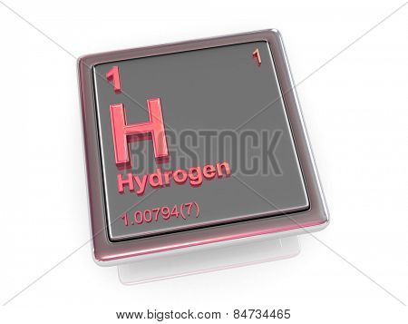 Hydrogen. Chemical element. 3d