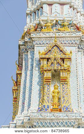 Bangkok, Thailand - Royal Palace and Wat Phra Kaeo Complex - detail