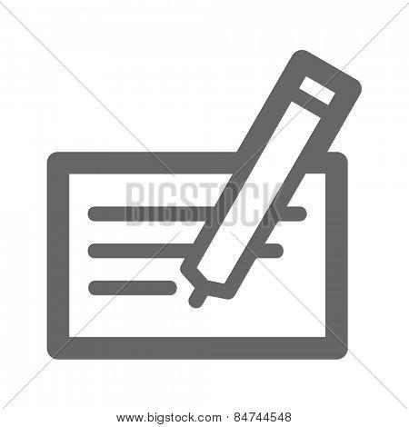 Invoice Web Icon