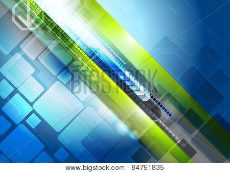 Abstract shine hi-tech background. Vector design