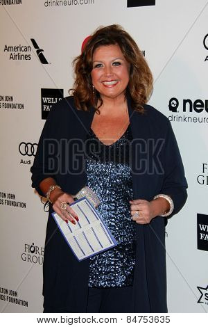 LOS ANGELES - FEB 22:  Abby Lee Miller at the Elton John Oscar Party 2015 at the City Of West Hollywood Park on February 22, 2015 in West Hollywood, CA