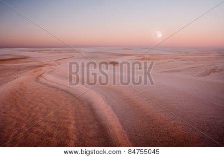 Dunes At Sunrise Landscape