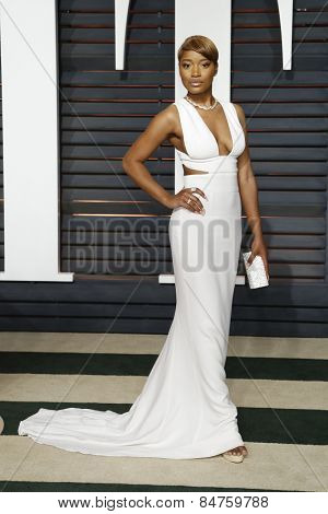 LOS ANGELES - FEB 22:  Keke Palmer at the Vanity Fair Oscar Party 2015 at the Wallis Annenberg Center for the Performing Arts on February 22, 2015 in Beverly Hills, CA