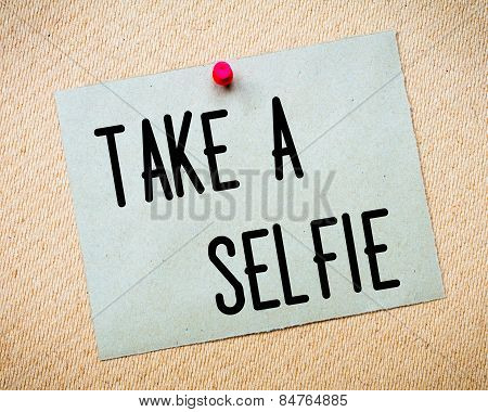 Take A Selfie Message