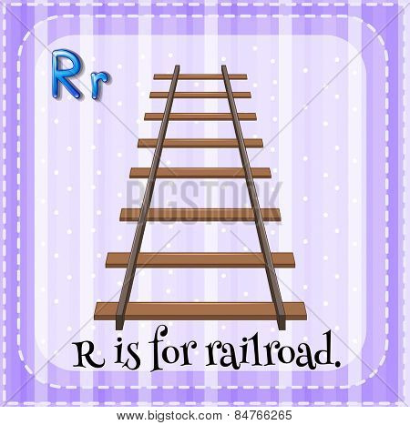 Alphabet R is for railroad