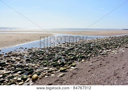 Low Tide on The Beach
