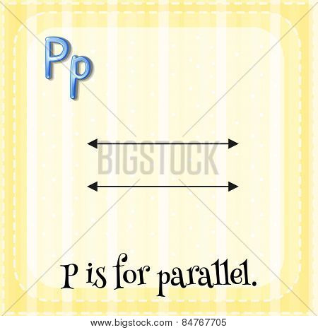 P is for parallel
