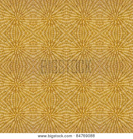 Round Woven Texture