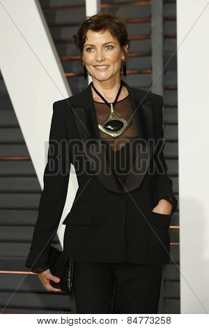 LOS ANGELES - FEB 22:  Carey Lowell at the Vanity Fair Oscar Party 2015 at the Wallis Annenberg Center for the Performing Arts on February 22, 2015 in Beverly Hills, CA