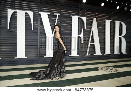 LOS ANGELES - FEB 22:  Angie Harmon at the Vanity Fair Oscar Party 2015 at the Wallis Annenberg Center for the Performing Arts on February 22, 2015 in Beverly Hills, CA