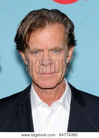 LOS ANGELES - JAN 05:  William H. Macy arrives to the Showtime celebrates all-new seasons of Shameless, House of Lies and Episodes  on January 5, 2015 in West Hollywood, CA