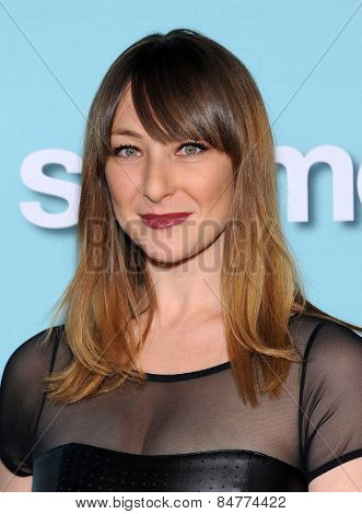 LOS ANGELES - JAN 05:  Isidora Goreshter arrives to the Showtime celebrates all-new seasons of Shameless, House of Lies and Episodes  on January 5, 2015 in West Hollywood, CA