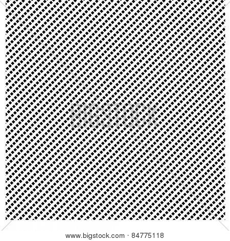 Very fine criss-cross lines. A black and white vector pattern.