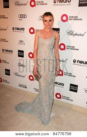 LOS ANGELES - FEB 22:  Bar Paly at the Elton John Oscar Party 2015 at the City Of West Hollywood Park on February 22, 2015 in West Hollywood, CA