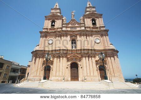 Parish Church,Mellieha,Malta