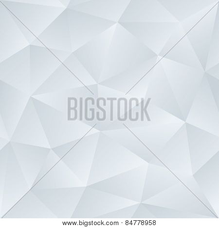 Low Poly Satin Seamless Vector Neutral Background.