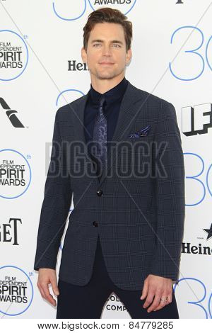 SANTA MONICA - FEB 21: Matt Bomer at the 2015 Film Independent Spirit Awards on February 21, 2015 in Santa Monica, California