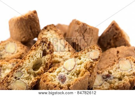 Italian Cantuccini Cookie With Almond