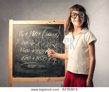 Teacher at a very young age
