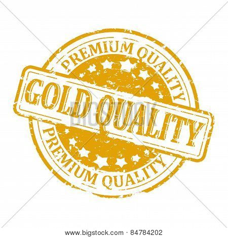 Scratched Gold Seal - Gold Quality - Premium