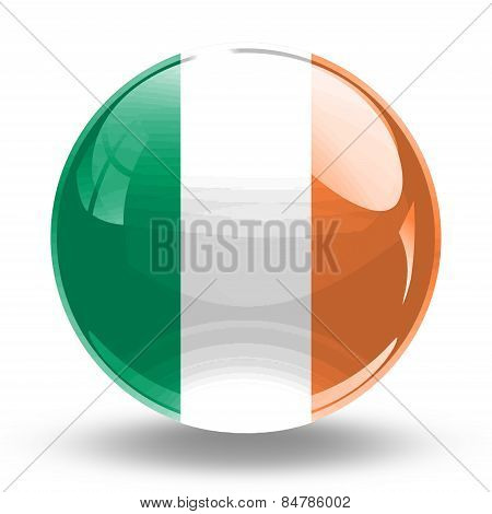 3D, crystal sphere Ireland