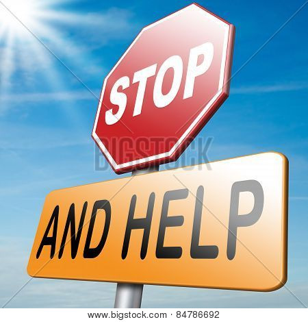 Stop And Help