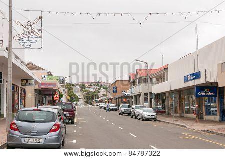 Street Scene In Mosselbay