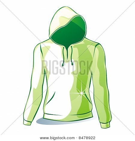isolated hoodie