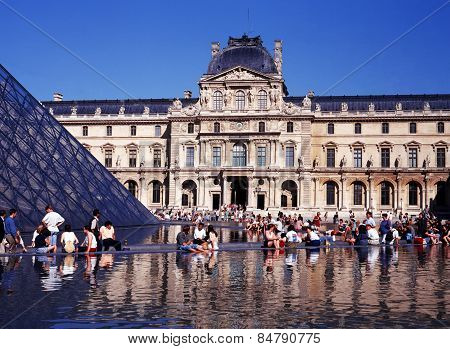 The Louvre, Paris.