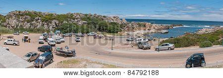 Panorama Of Kleinmond Harbor