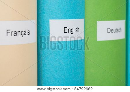 Learning Language Books