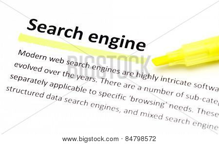 Definition of search engine