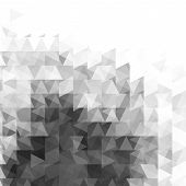 image of grayscale  - Abstract grayscale light template background - JPG