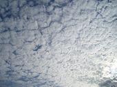 Beautiful Cloudy Sky poster