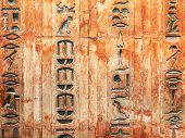 pic of hieroglyph  - Egyptian hieroglyphs on the wall - JPG