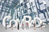 stock photo of comrades  - Concept of partner - JPG