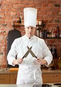 stock photo of chef knife  - cooking - JPG