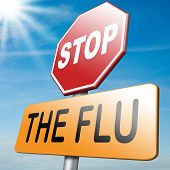 picture of immune  - flu vaccination prevention shot stop the virus vaccine for immunization - JPG