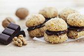 picture of cookie  - Crescent Cookies  - JPG