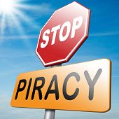 picture of stop fighting  - piracy stop illegal download and copying copyright and intellectual property protection protect copy of trademark brand - JPG