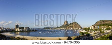 Botafogo beach and Sugar Loaf