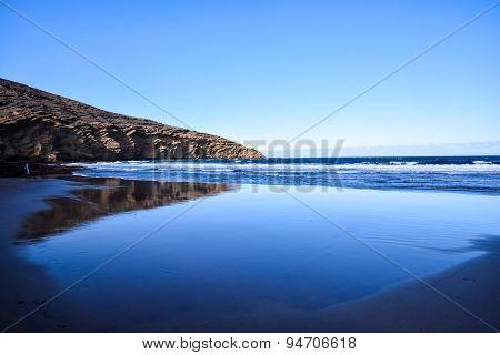 Dry Lava Coast Beach