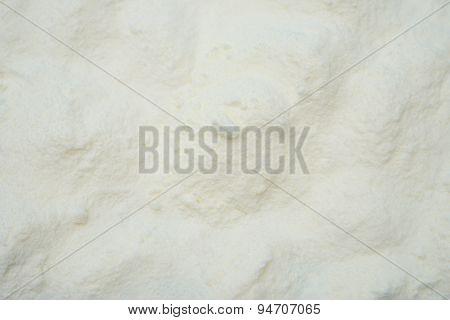 Powdered Milk As Background