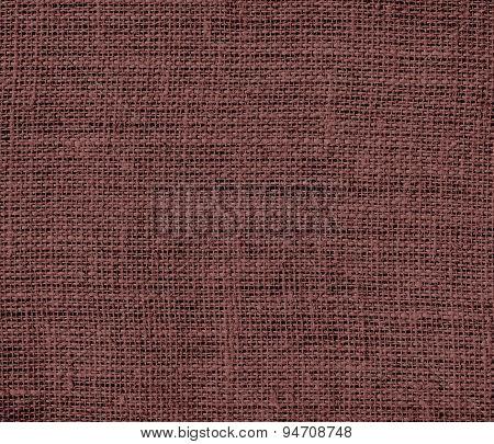 Deep coffee burlap texture background