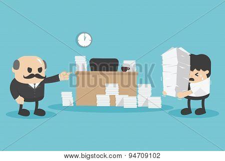Concept Business Deadline