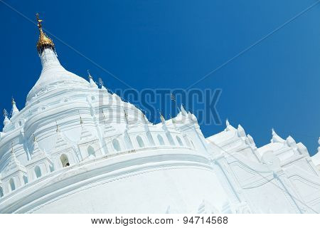 Hsinbyume Pagoda, Mingun, Myanmar