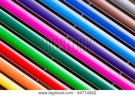 multi colors pen